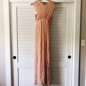 Topshop blush formal dress